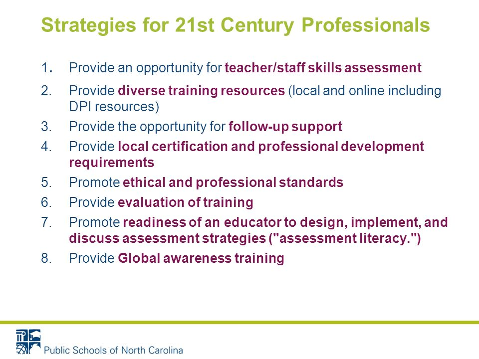 Strategies for 21st Century Professionals 1.