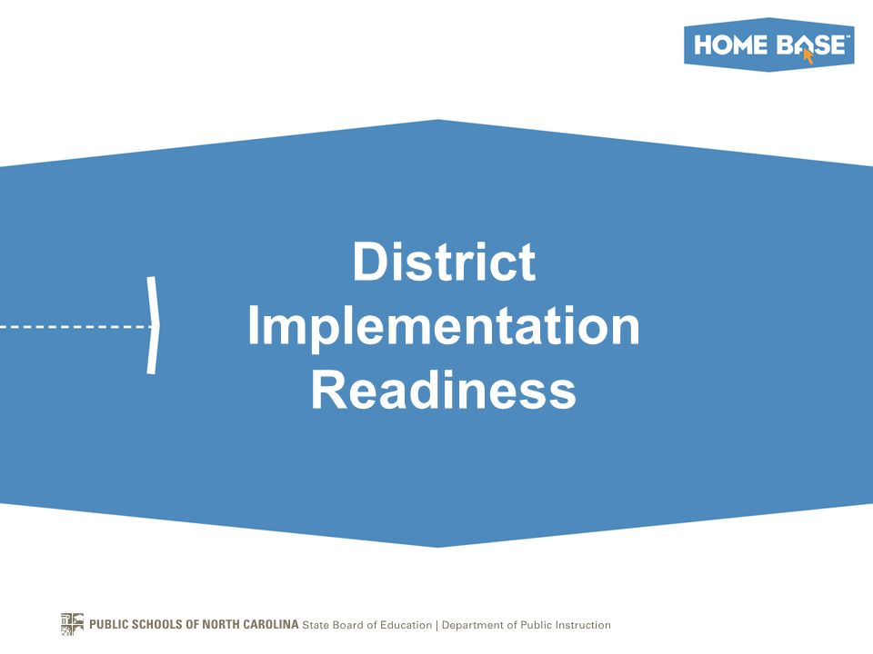 District Implementation Readiness