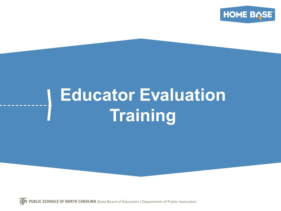 Educator Evaluation Training