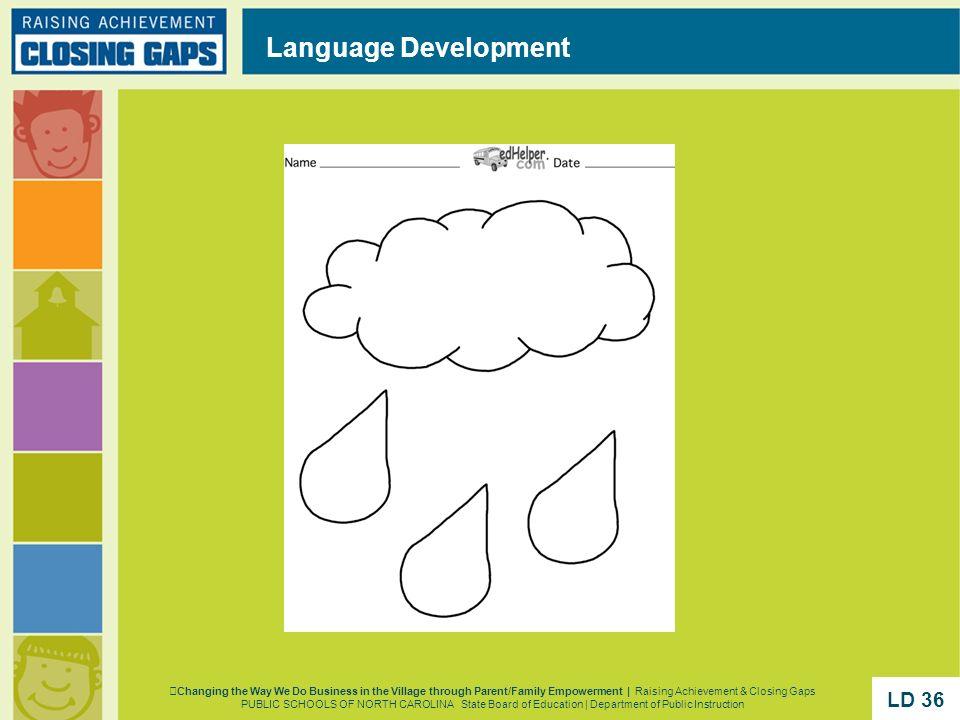 Language Development Changing the Way We Do Business in the Village through Parent/Family Empowerment | Raising Achievement & Closing Gaps PUBLIC SCHO