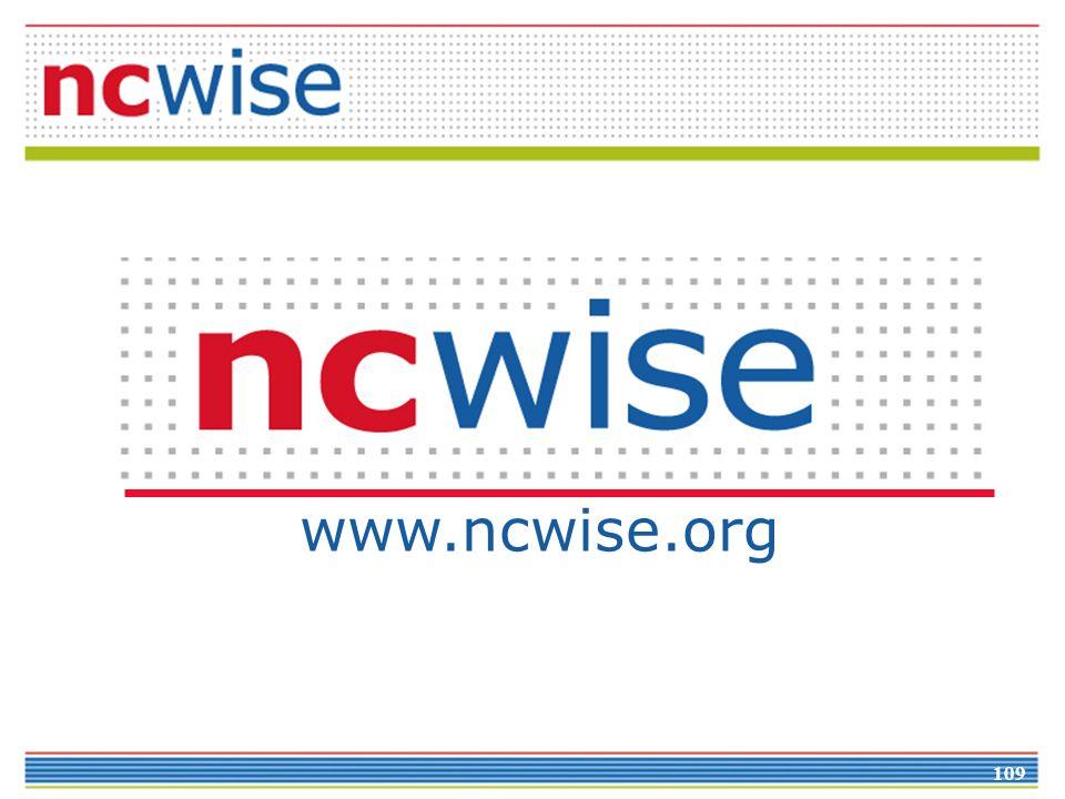 109 www.ncwise.org