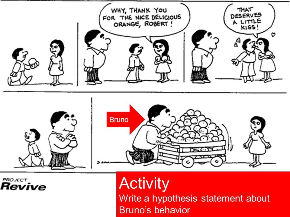 http://www.sonoma.edu/cihs/classroom/mod_3/lesson1.html 86 http://www.sonoma.edu/cihs/classroom/mod_3/lesson1.html Activity Write a hypothesis stateme
