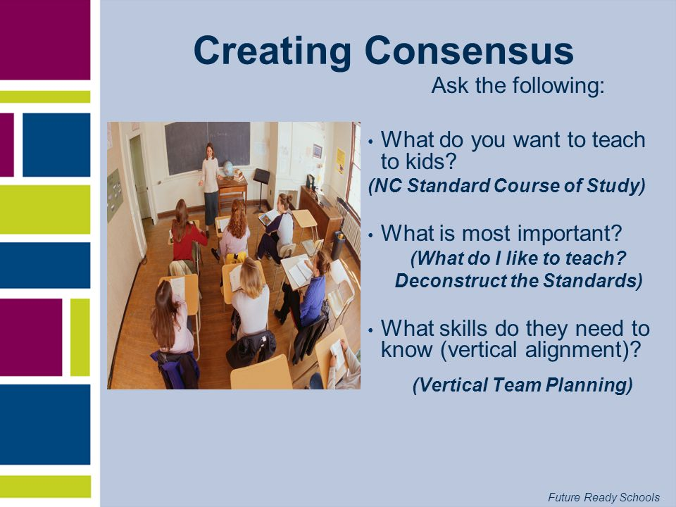 Future Ready Schools Why Professional Learning Communities?
