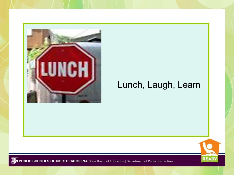 Lunch, Laugh, Learn