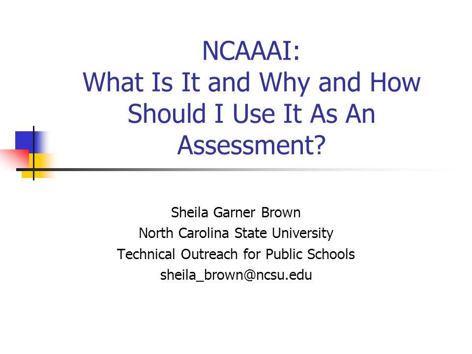 What is the NCAAAI.