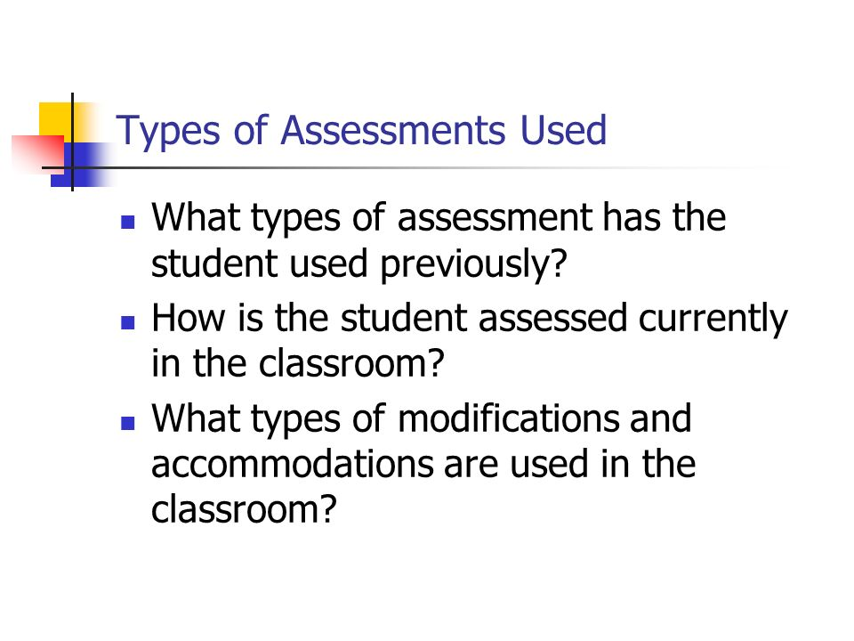 Other Factors That Must be Considered Parent Input Student Input When Appropriate Team Consensus
