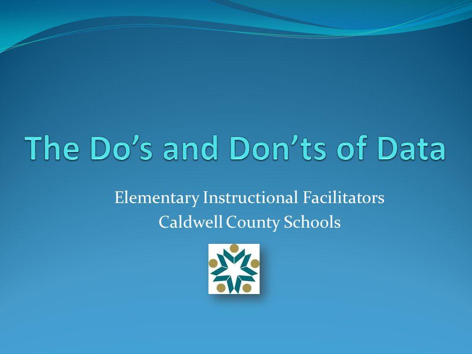 Elementary Instructional Facilitators Caldwell County Schools