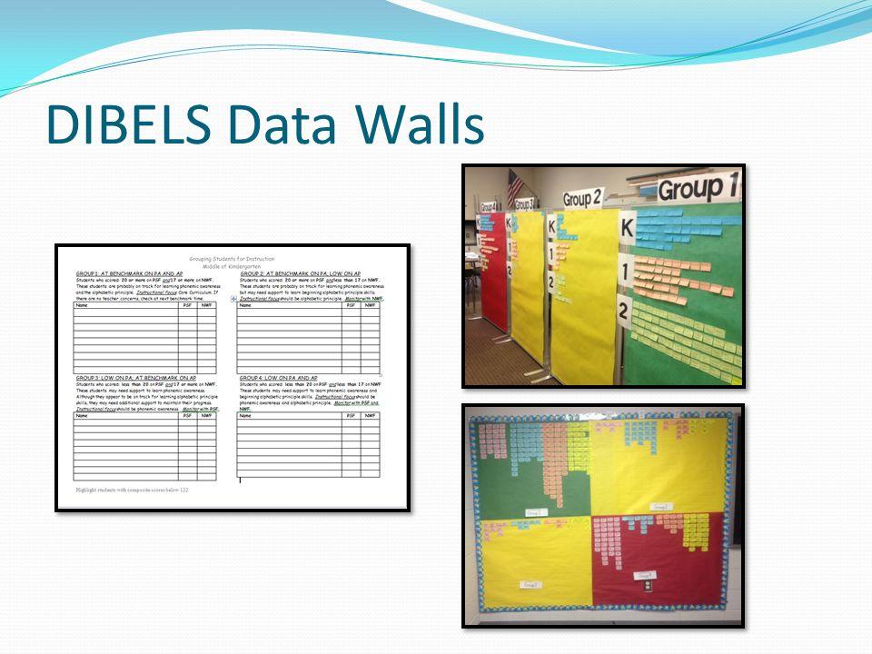 DIBELS Data Walls