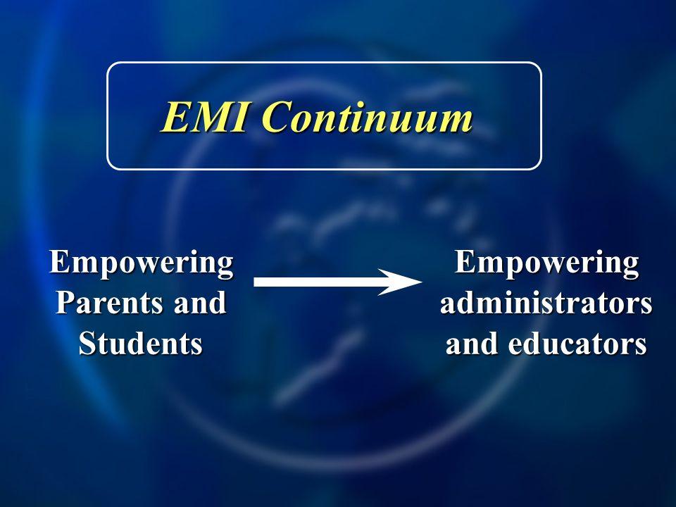 EMI Application Model EMI Application Model 1.Knowledge in ones subject discipline 2.