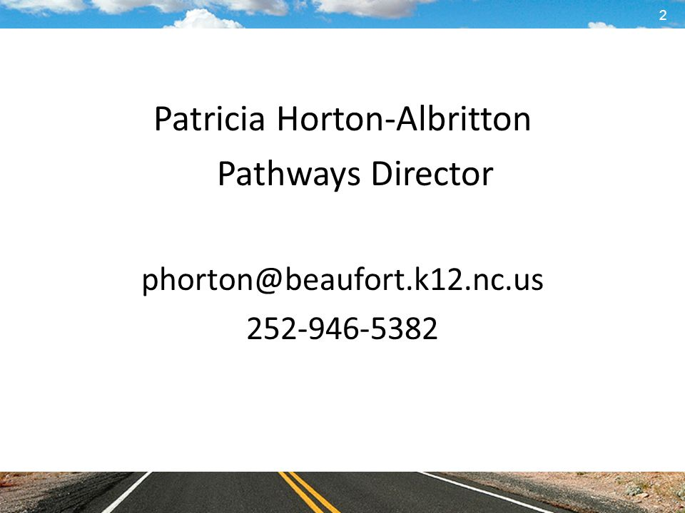 Patricia Horton-Albritton Pathways Director