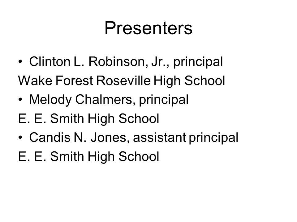 Presenters Clinton L.