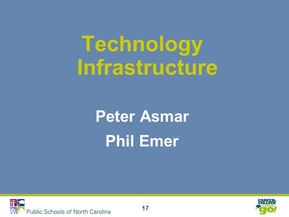 17 Technology Infrastructure Peter Asmar Phil Emer