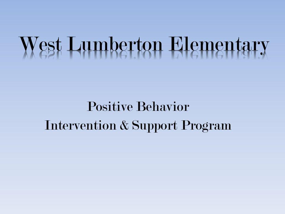 Positive Behavior Intervention & Support Program