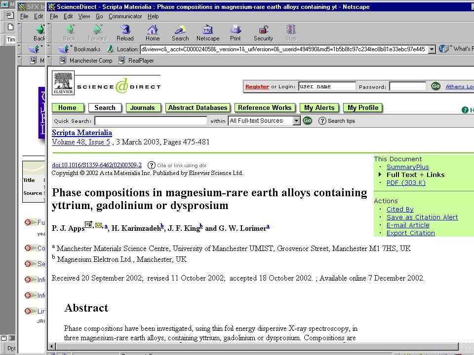 2003-10-29NISO OpenURL Workshop12