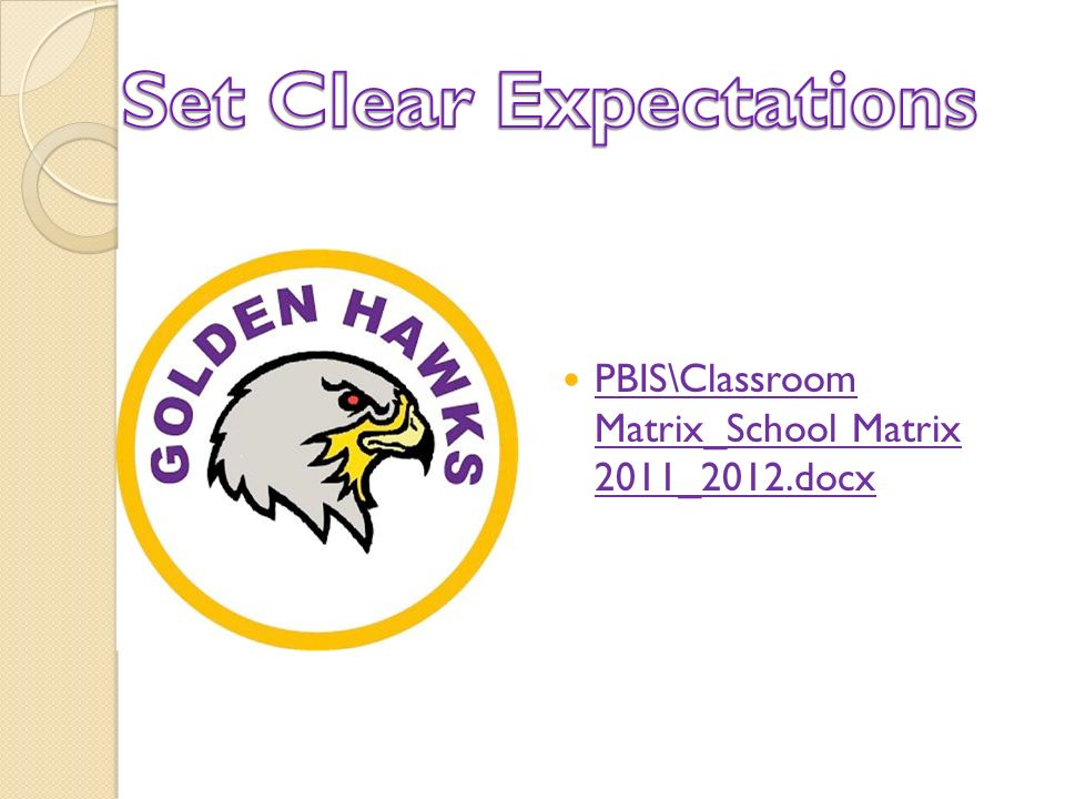PBIS\Classroom Matrix_School Matrix 2011_2012.docx PBIS\Classroom Matrix_School Matrix 2011_2012.docx