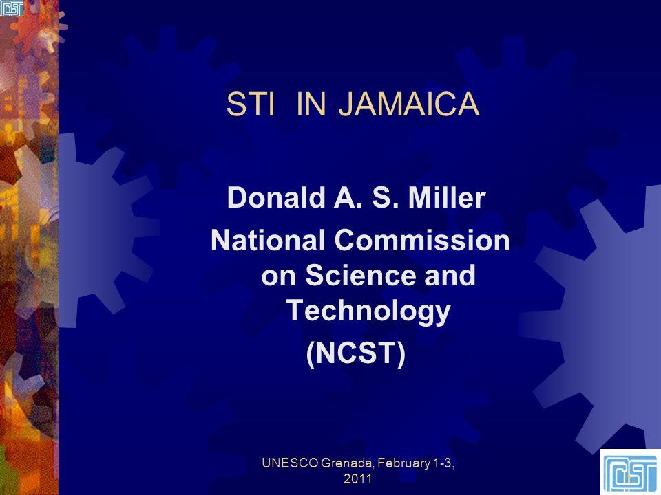 STI IN JAMAICA Donald A. S.
