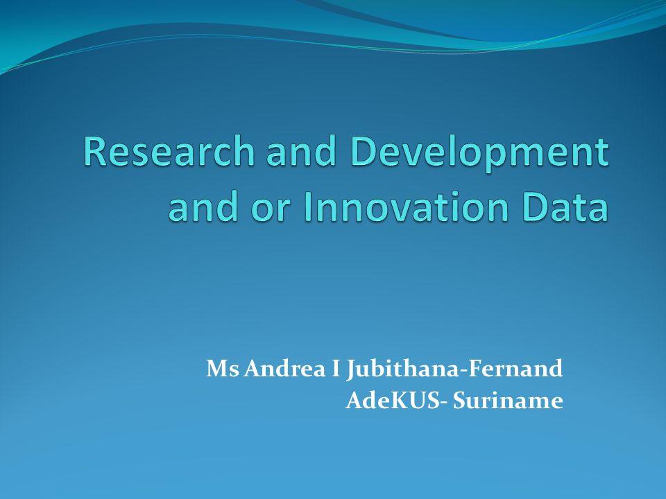 Ms Andrea I Jubithana-Fernand AdeKUS- Suriname