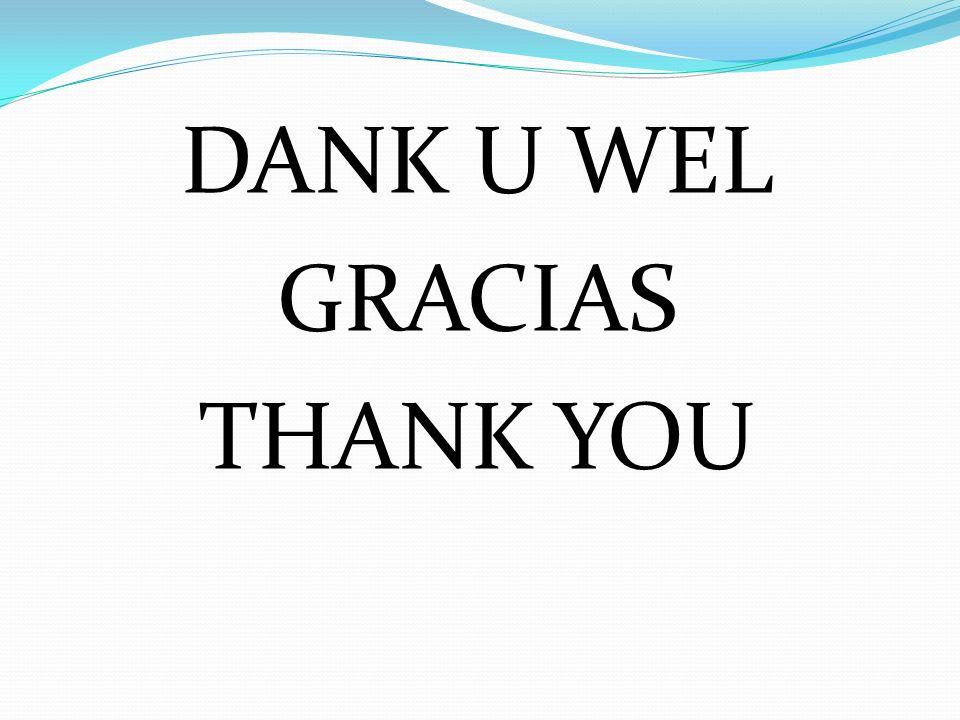 DANK U WEL GRACIAS THANK YOU