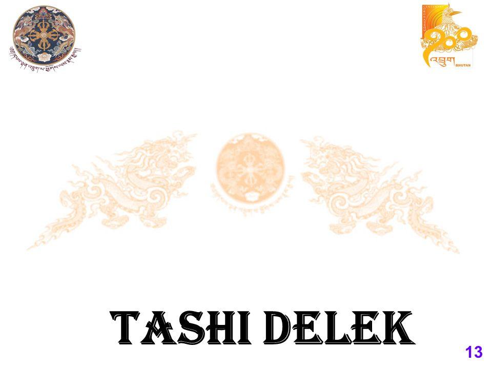 13 TASHI DELEK