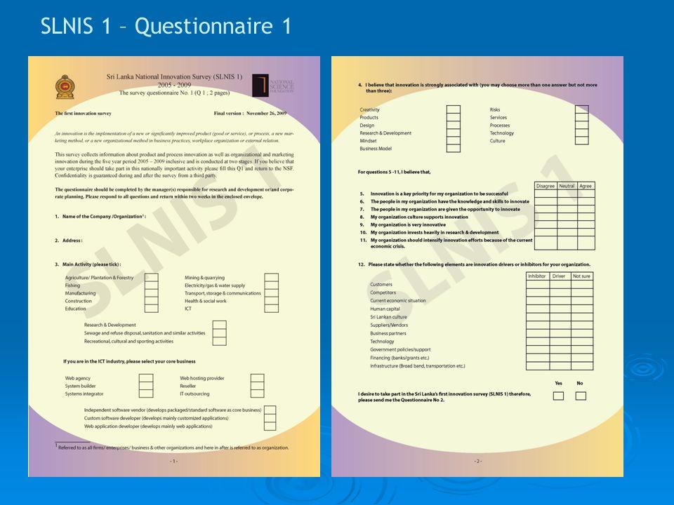 SLNIS 1 – Questionnaire 1