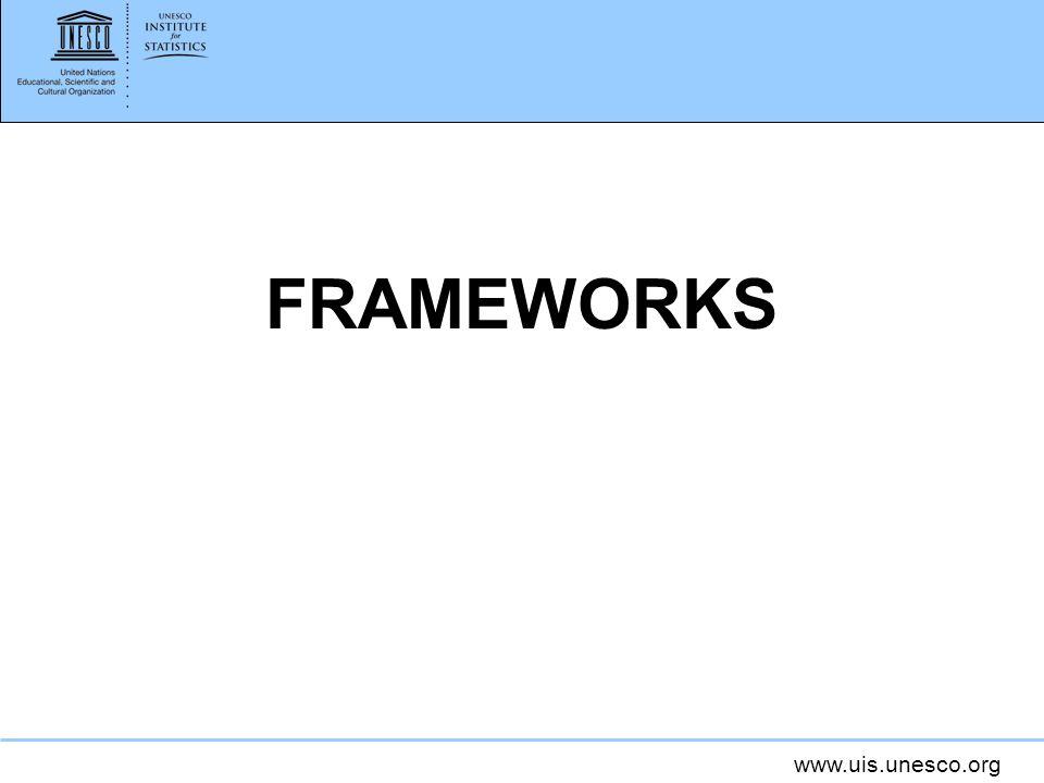 www.uis.unesco.org FRAMEWORKS