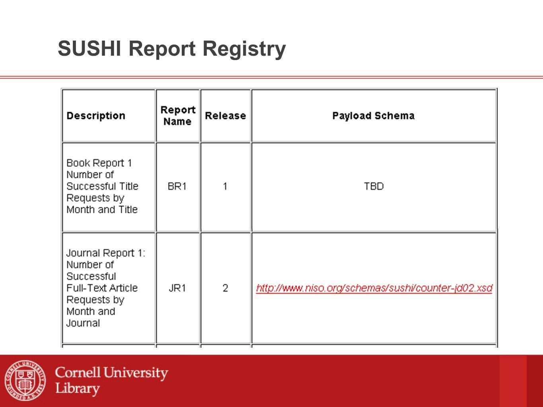 SUSHI Schema: ReportRequest