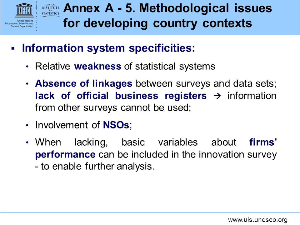 www.uis.unesco.org Annex A - 5.