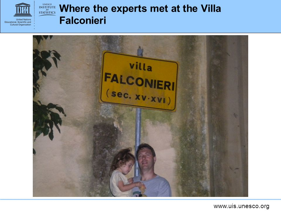 Where the experts met at the Villa Falconieri