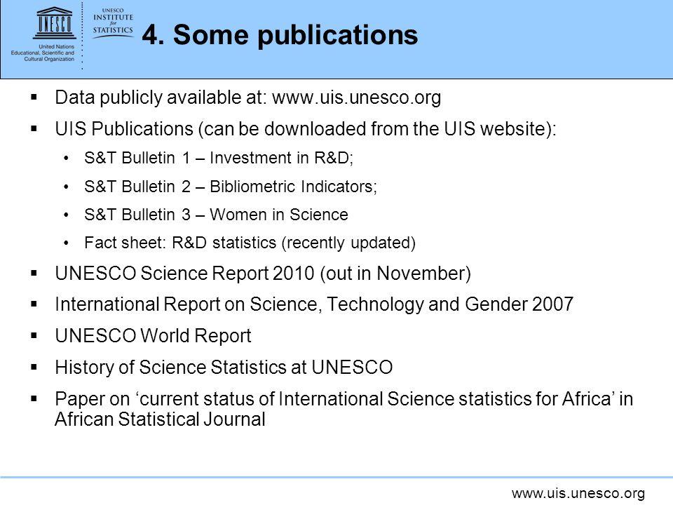 www.uis.unesco.org 4.