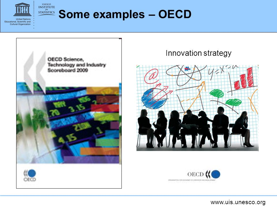 www.uis.unesco.org Some examples – OECD Innovation strategy