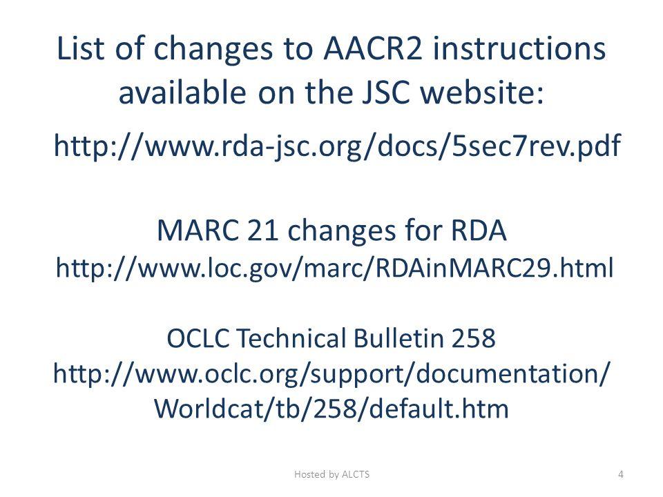Parallel Titles AACR2 1.1D 245 10 $a International meteorological vocabulary = $b Vocabulaire météorologique international.