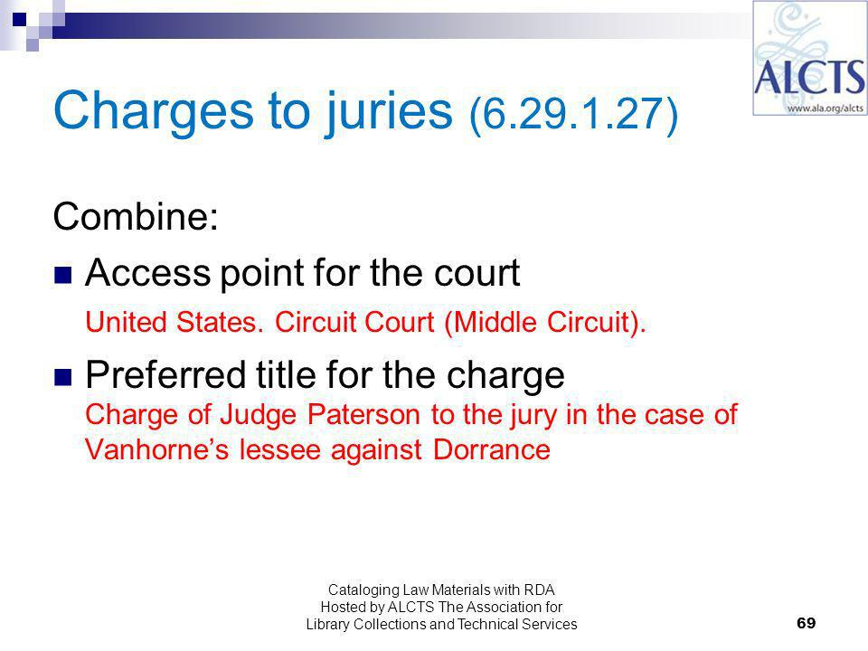 Charges to juries ( ) Combine: Access point for the court United States.