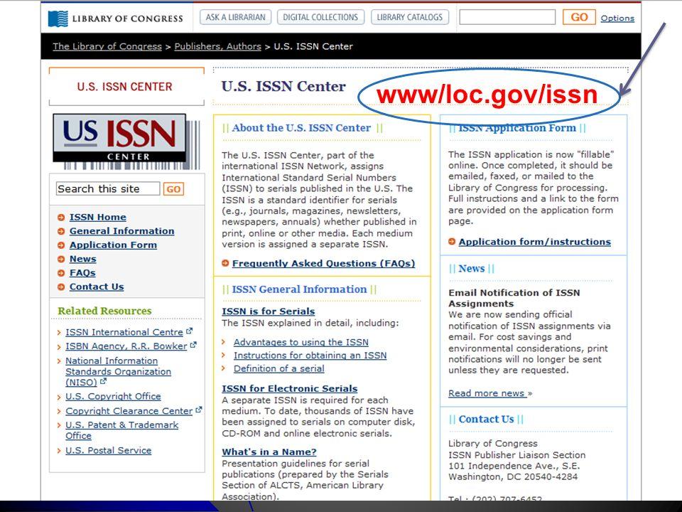 www/loc.gov/issn