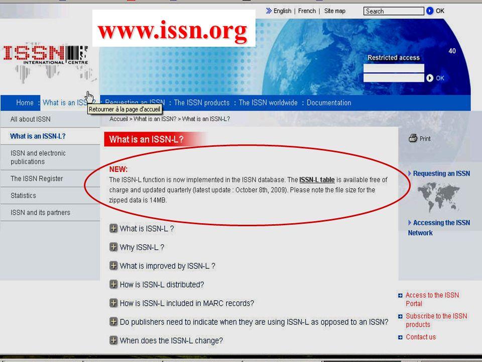 www.issn.org 40