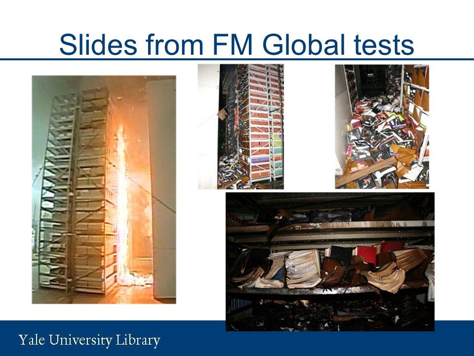 Slides from FM Global tests