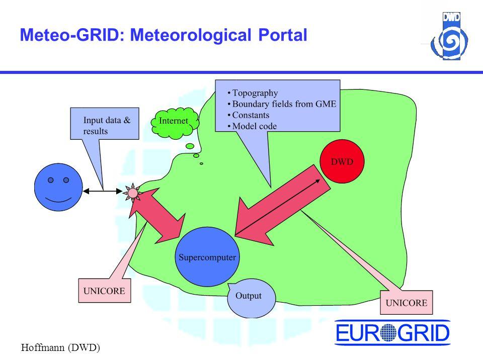 Meteo-GRID: Meteorological Portal Hoffmann (DWD)