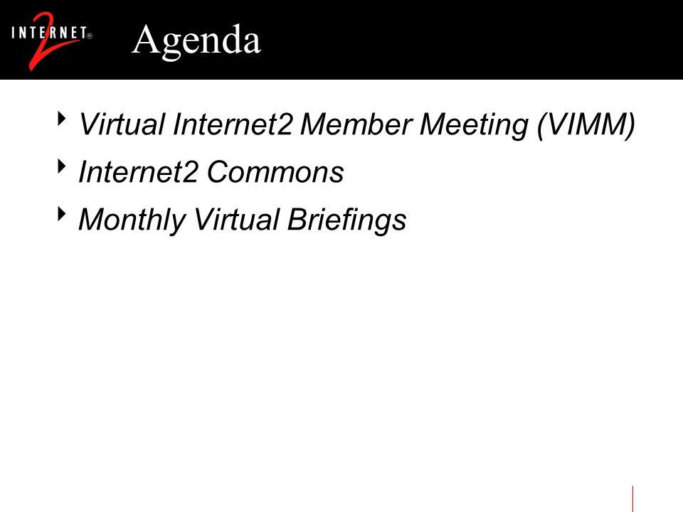 Virtual Internet2 Member Meeting