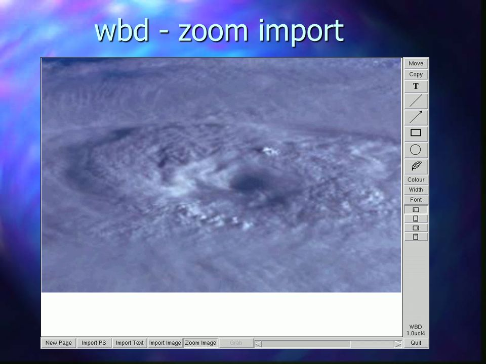wbd - zoom import