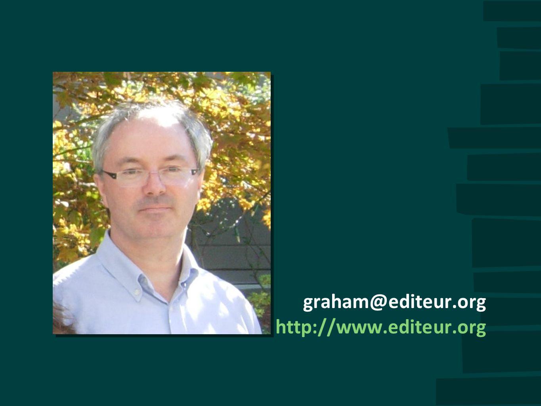 graham@editeur.org http://www.editeur.org