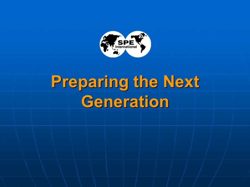 15 Preparing the Next Generation