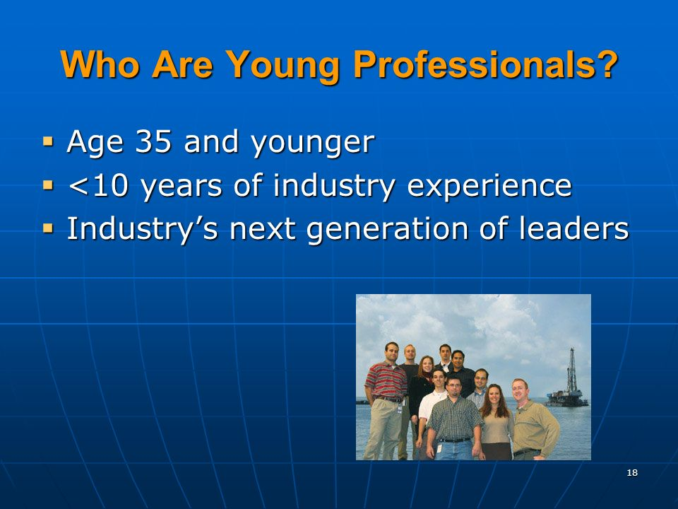 18 Who Are Young Professionals.