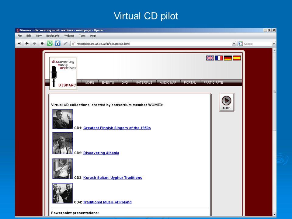 90 Virtual CD pilot