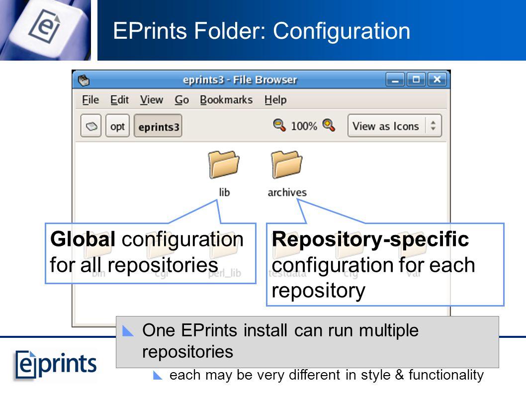 EPrints Folder: All of the Archives