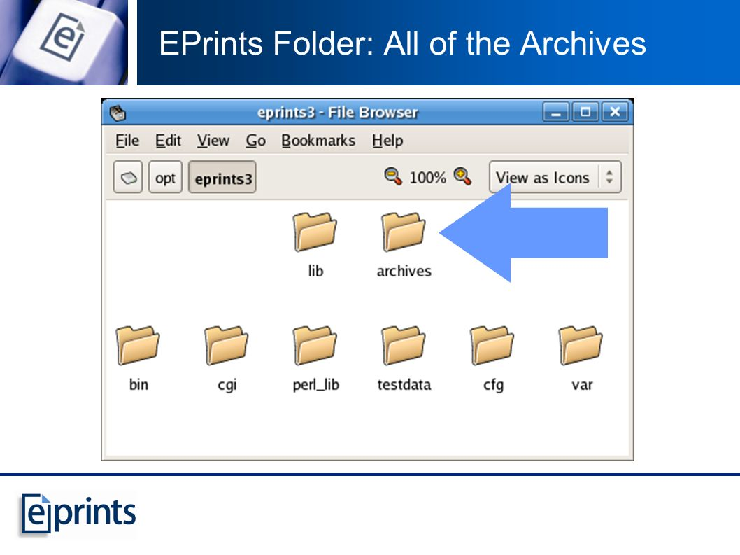 Task 5: Bibliographic Formats EPrints uses rules to create bibliographic references whenever it refers to an eprint In the abstract page In a list of search results On a view page These rules (the bibliographic styles) are expressed in an XML language (Same language as used in workflows)