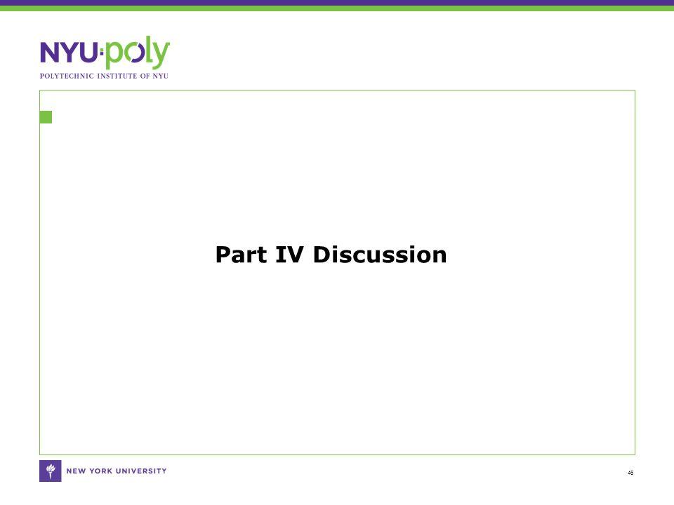 Part IV Discussion 46