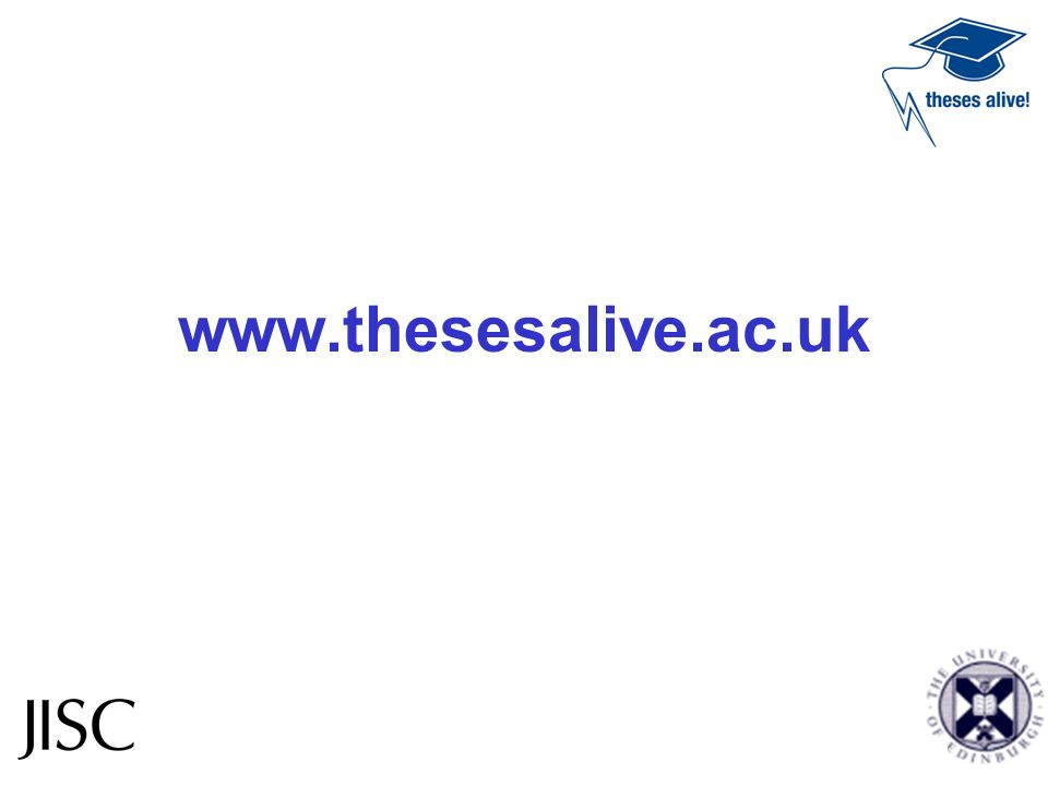 www.thesesalive.ac.uk