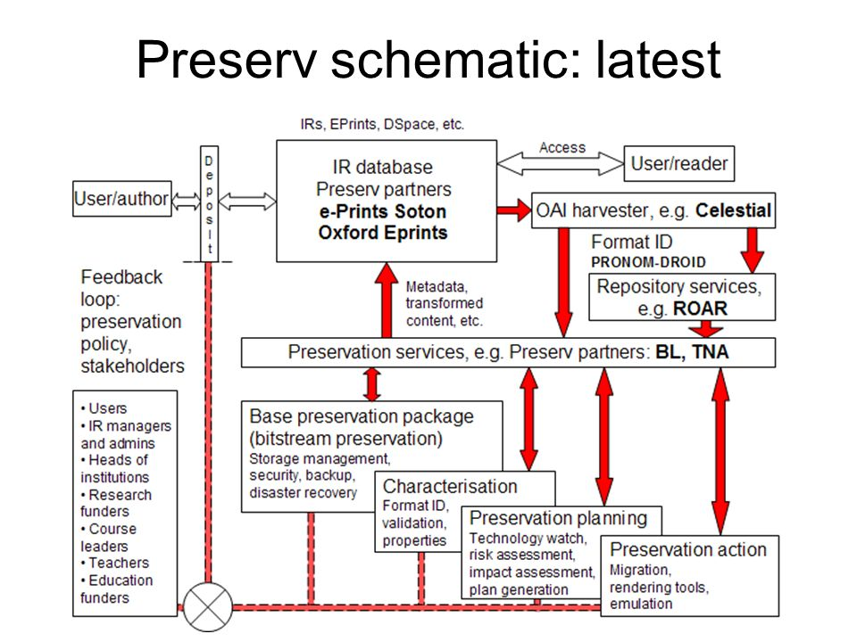 Preserv schematic: latest