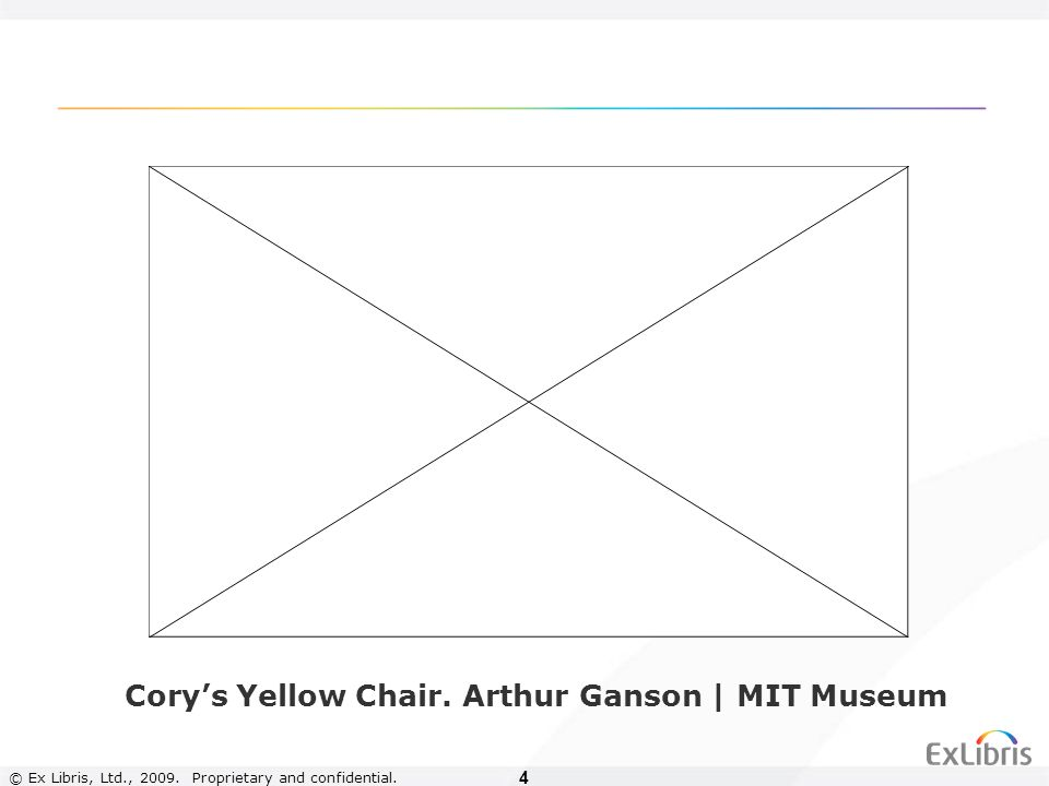 4 Corys Yellow Chair. Arthur Ganson | MIT Museum