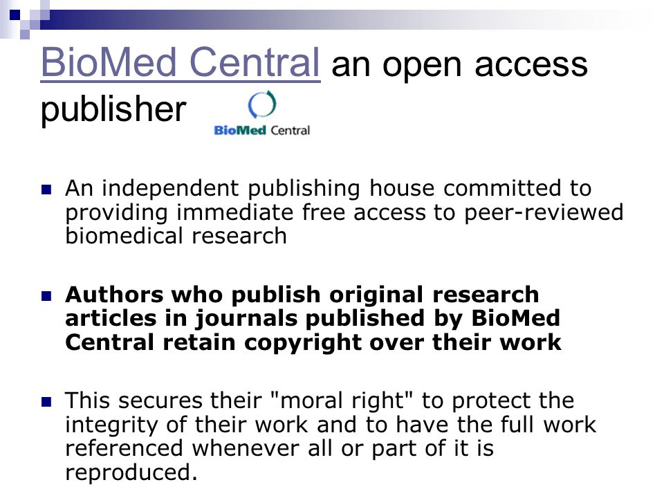 The key thought to go away with: Articles freely available online are more highly cited.