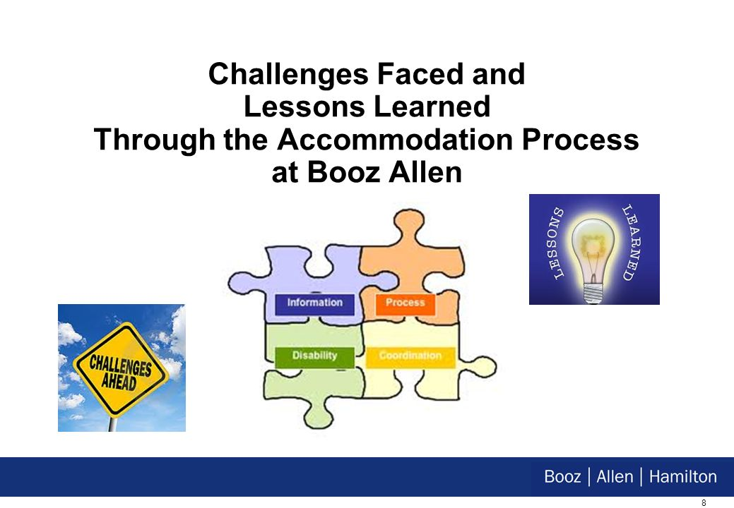 8 Challenges Faced and Lessons Learned Through the Accommodation Process at Booz Allen